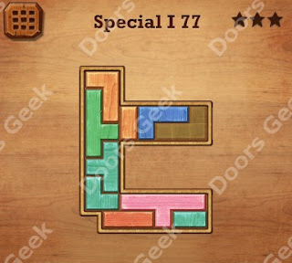 Cheats, Solutions, Walkthrough for Wood Block Puzzle Special I Level 77