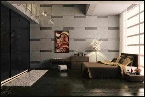 Dormitorio matrimonial elegante