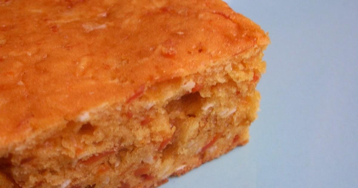 Carrot Coconut Flour Cake Recipe