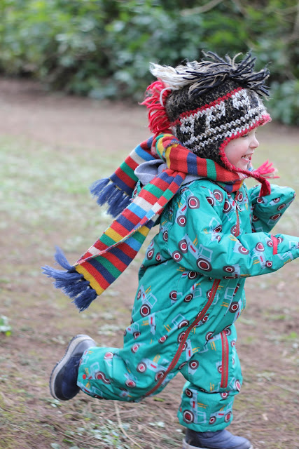 joules snowsuit and scarf
