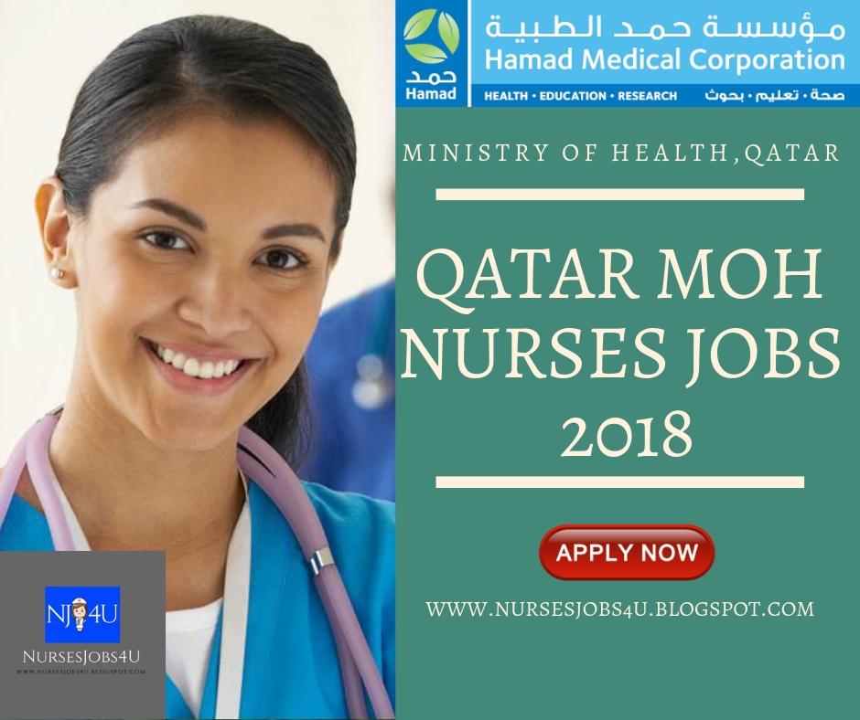 nursesjobs4u: Qatar MOH Nurses Jobs 2018