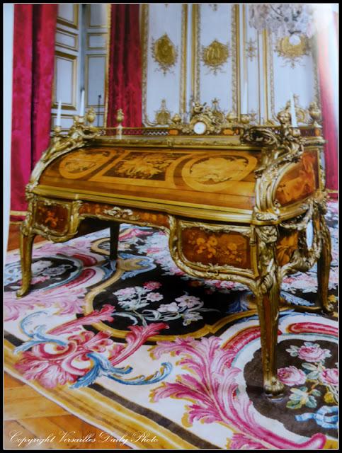 Oeben et Riesener, bureau du roi Versailles