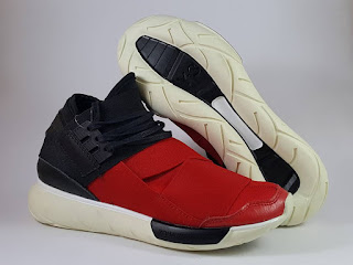 Sepatu Running Adidas Y3 Qasa High Yohji Yamamoto Red, harga adidas running Y3 , adidas yohji yamamoto, adidas qasa high , sepatu lari , premium, replika , import