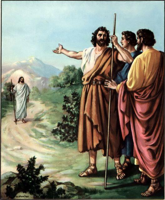 Resultado de imagem para João 1,35-42