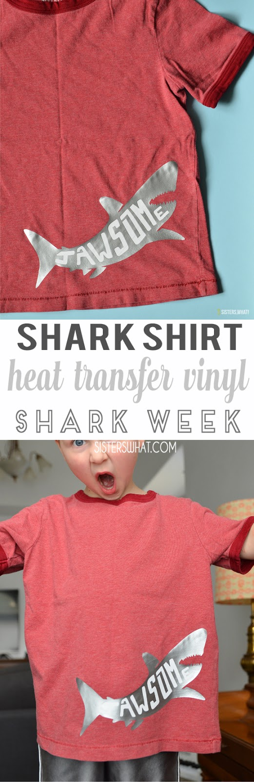 shark week shark shirt heat transfer vinyl