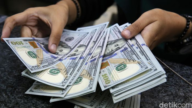 Dolar AS Menguat ke Rp 14.505