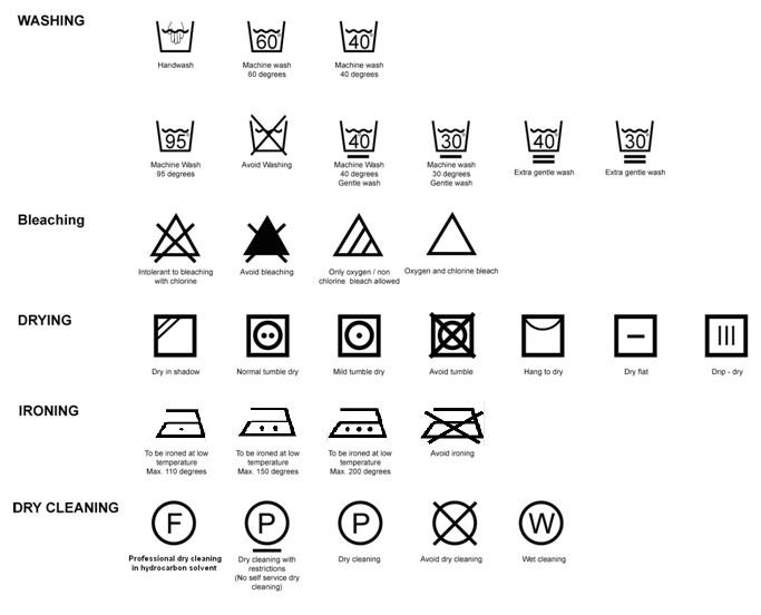 SCHOOL OF LEARNING: wash Care Instructions