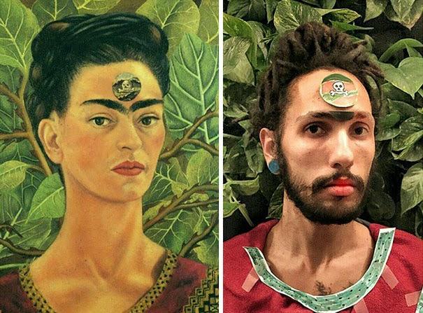 recreating famous artwork fools do art-8