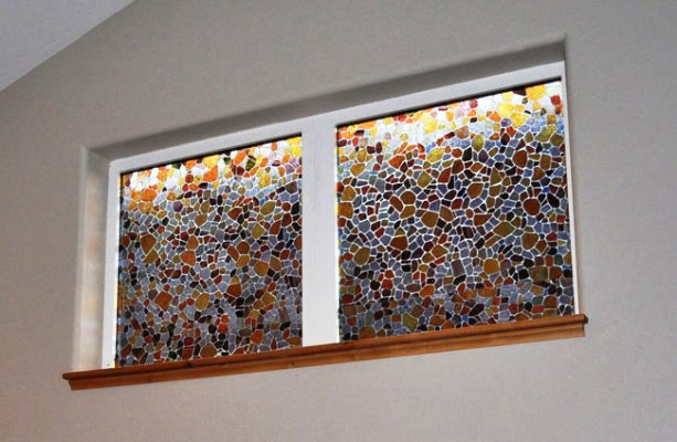 DIY Stained GLASS WINDOW Film