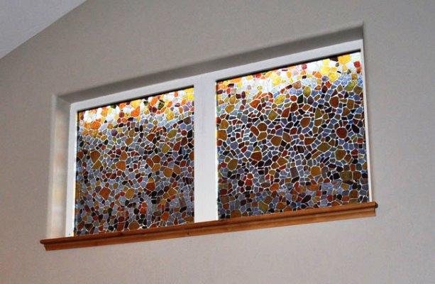 DIY Stained GLASS WINDOW Film