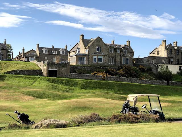 Moray Golf Clubin väylä 18