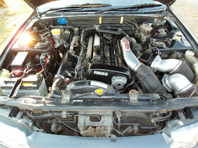 US Legally Imported Skyline w/ RB26DETT Twin Turbo Engine and 5 speed Manual Transmission with AWD and 4-Wheel Steering