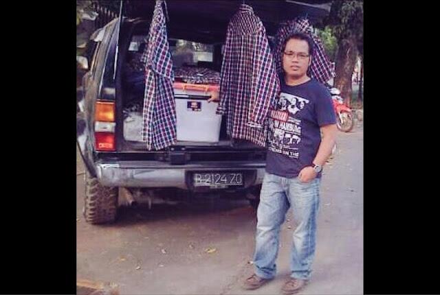Beredar Foto Mobil Terrano di Rumah SBY Bersama Pria dengan Baju Kota-kotak, Ini Penjelasan Polisi