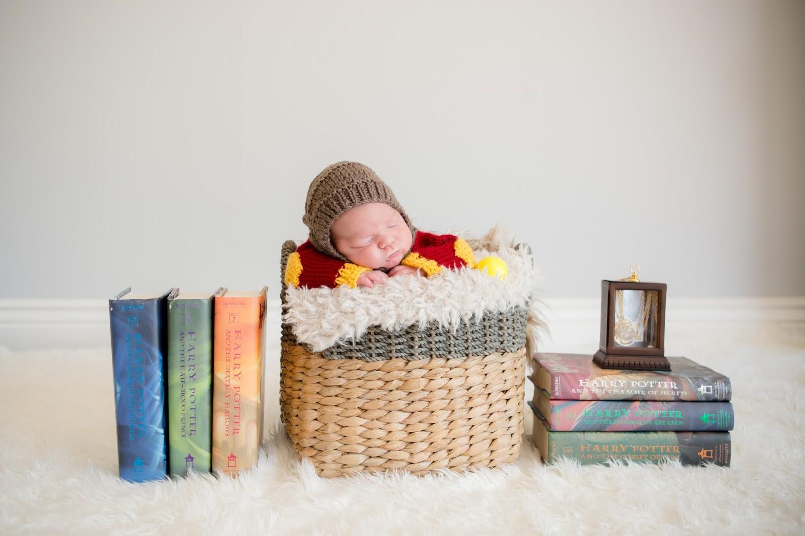 Harry Potter newborn boy