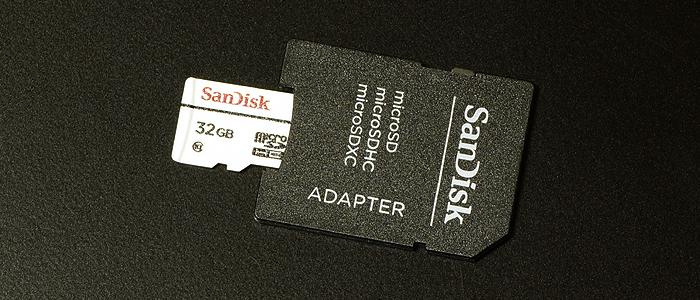 サンディスク・高耐久マイクロSDカードはドライブレコーダーでの使用に最適