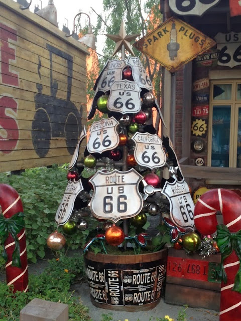 Christmas Trees of Cars Land