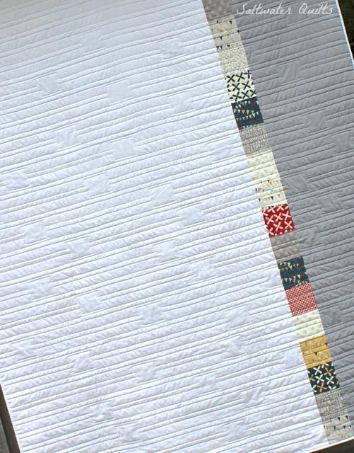 Complete Reunion Quilt Back | © Saltwater Quilts 2012