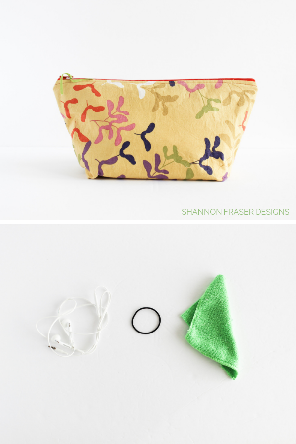 Take a peek inside a modern quilter's travel sewing kit | Shannon Fraser Designs