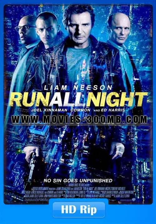 Run All Night 2015 HDRip 480p 350mb Poster