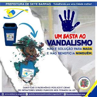 Todos por uma Cidade Melhor contra o Vandalismo