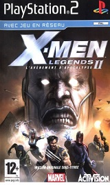 xml2p20f - X-Men Legends II Rise of the Apocalypse PS2 DVD USA