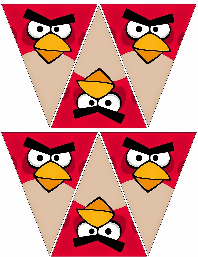 free printable angry birds bunting oh my fiesta for geeks