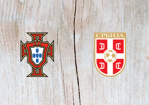 Portugal vs Serbia Full Match & Highlights 25 March 2019