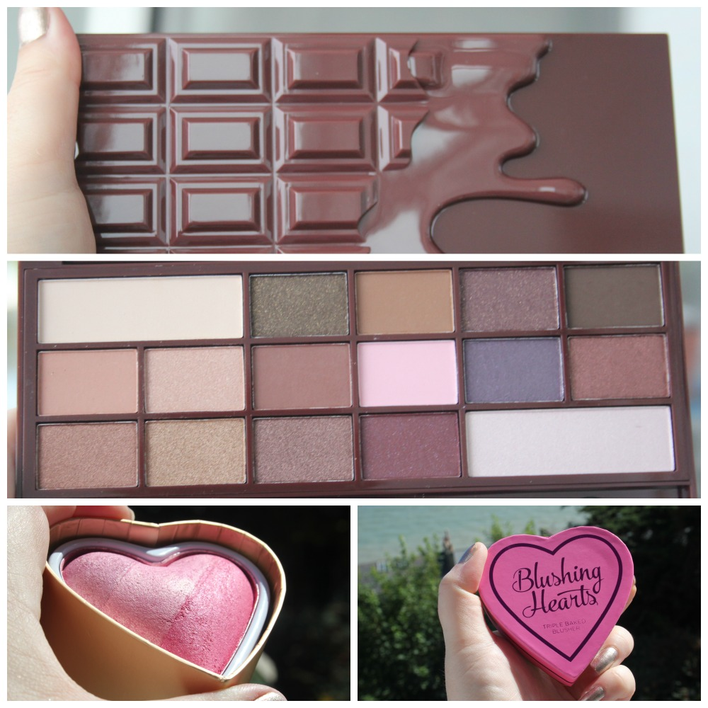 MAKEUP REVOLUTION CHOCOLATE SCENTED PALETTE