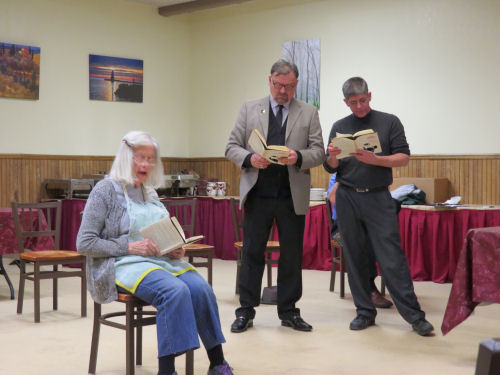 The Runner Stumbles, reader's theater