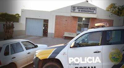 POLICIA MILITAR DE BORRAZÓPOLIS RESPOSTA IMEDIATA
