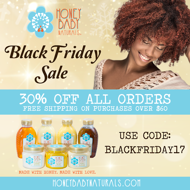 Honey Baby Naturals Black Friday sale 2017 - ClassyCurlies