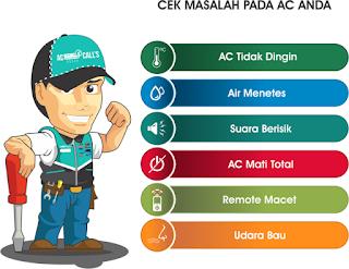 Jasa Service AC 24 Jam Daerah Tanah Baru Depok 081341770143
