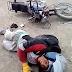 CHOQUE ENTRE MOTOCICLETAS DEJA DOS HERIDOS EN EL CARMEN