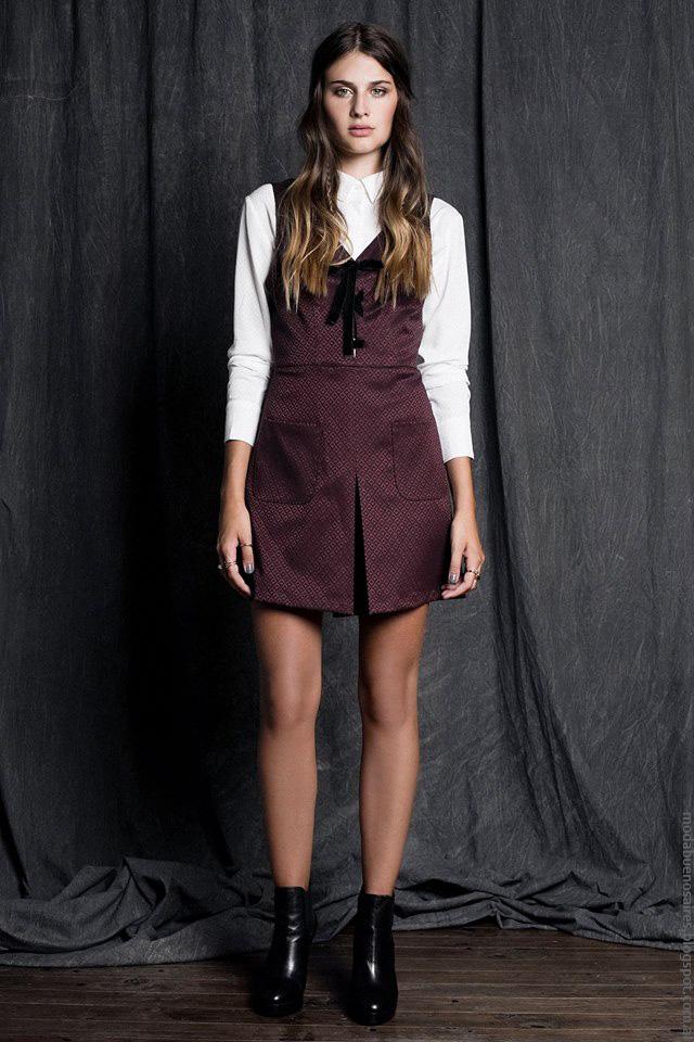 Ropa de moda invierno 2016 Sans Doute. Moda vestidos invierno 2016.