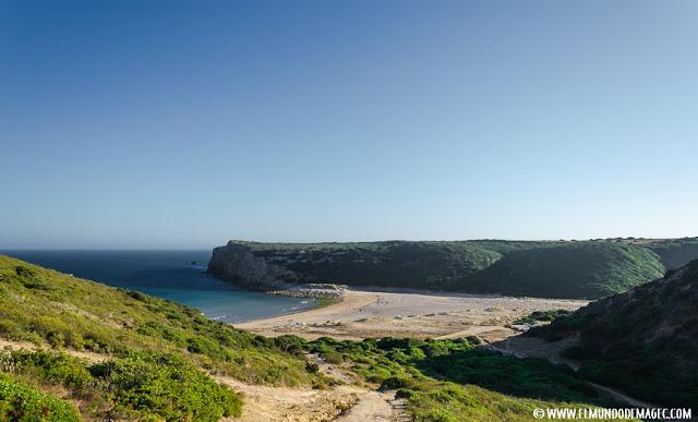 Las mejores playas del Algarve - Vistas desde los senderos que llegan a Boca del Barranco