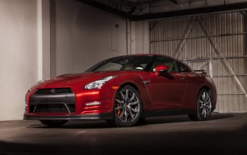 Wallpaper: Nissan GT-R 2015