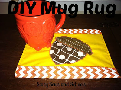 Mug Rug | Stacy Sews and Schools
