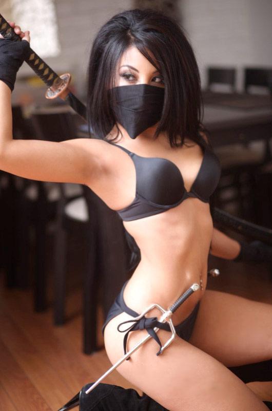 Naked girl ninjas sex — pic 14