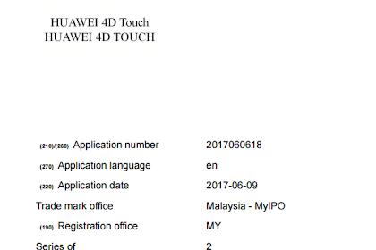 Teknologi Touch 4D Akan Di Sematkan Pada Ponsel Huawei