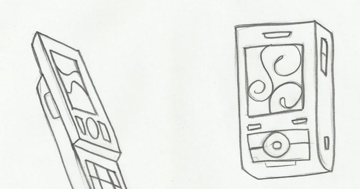 Desenho De Celulares Para Colorir