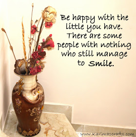 Inspirational poster smile happy