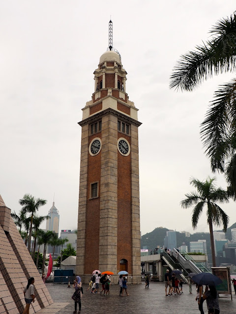 Clock Tower in TST, Kowloon, Hong Kong