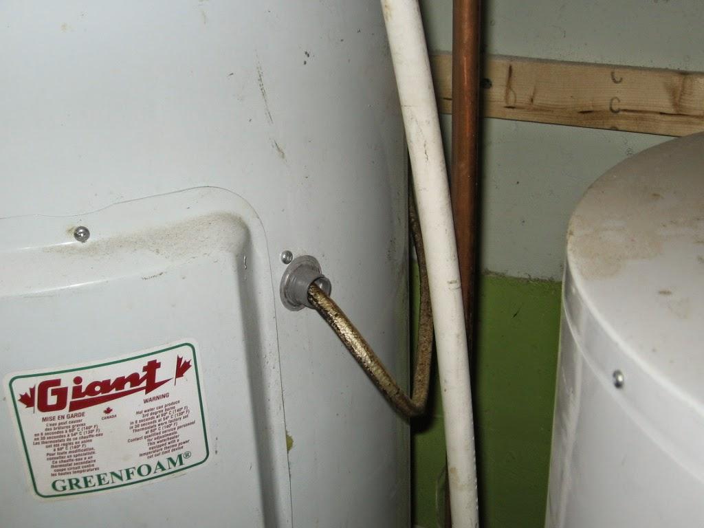 chauffe-eau ancienne connexion électrique