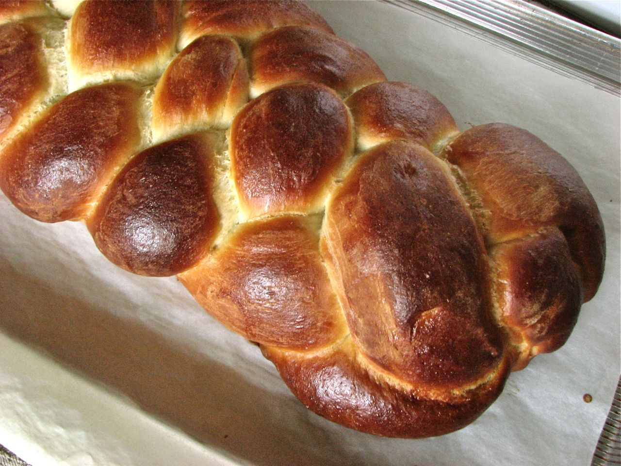 Delectably Mine: Braided Challah Bread