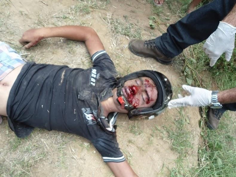 BLOG DO ELISBERTO COSTA: Adolescente morre em acidente de moto