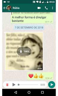 Whatsapp: Escute o áudio antes de enviar