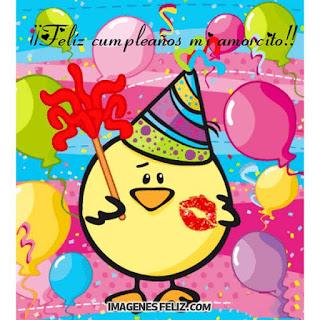 Feliz Cumpleaños Amor gif animado con movimiento