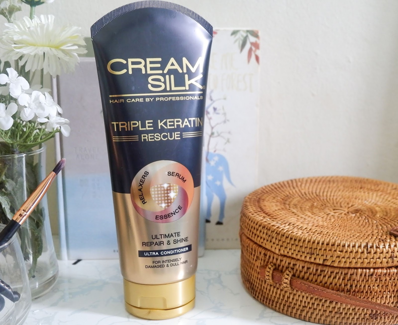 CREAM SILK PH: TRIPLE KERATIN RESCUE ULTRA-CONDITIONER REVIEW