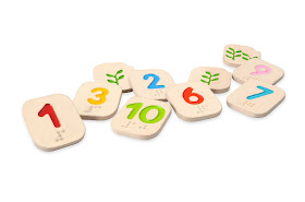 Alternative to Montessori Sandpaper Numbers for those who are vision impaired