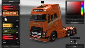 M.Way&Son Skin for Volvo 2013